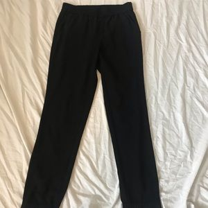 J.Crew black joggers with pockets size 0